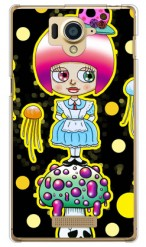 毒キノ子 design by 326 / for AQUOS Xx 304SH/SoftBank